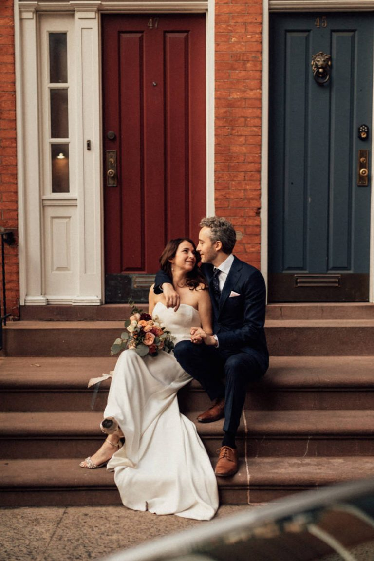 Intimate New York Wedding 70