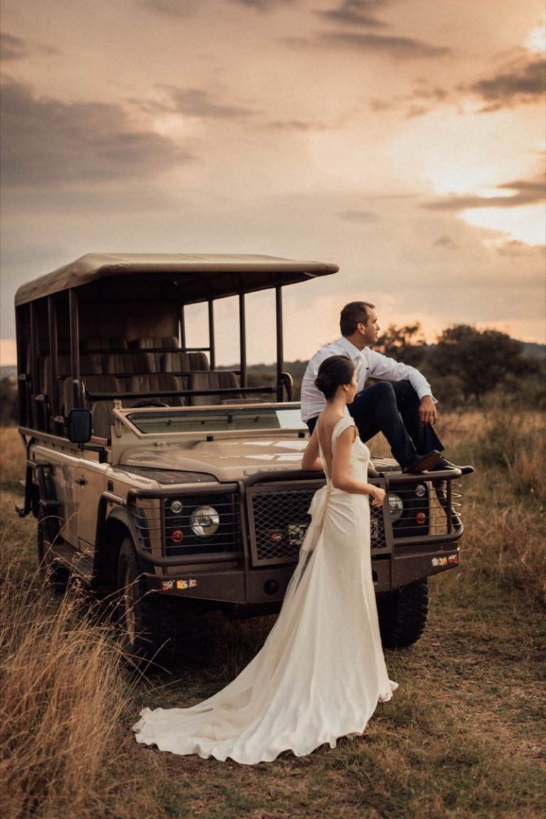 Safari Elopement Wedding 70